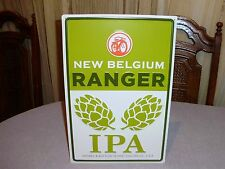 NEW BELGIUM BREWING RANGER IPA SIGN BREWED IN FORT COLLINS COLORADO MUST SEE NEW