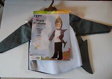 12-18 Months Baby Shark Gray & White Costume Halloween Decoration Prop Autumn