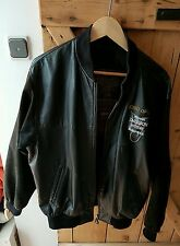 @Michael Jackson Lederjacke/Leather jacket (History Tour - Jacke) Größe S@