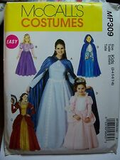McCall's MP309 Kids Cosplay, Steampunk, Princess Gown Pattern New Sz 3-4,5-6,7-8