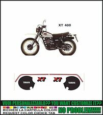 kit adesivi stickers compatibili xt 400 1980