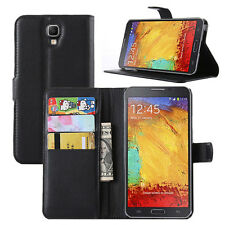 HOUSSE ETUI COQUE CUIR LUXE PORTEFEUILLE A RABAT SAMSUNG GALAXY NOTE 3 LITE