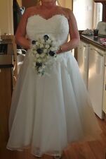 BRIDES WEDDING DRESS COMPLETE PACKAGE