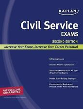 Kaplan Civil Service Exams (Kaplan Test Prep)-ExLibrary