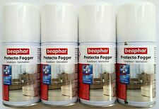 Flea Bomb Beaphar Protecto Fogger Economy Pack 4x75ml Insects Nebulizer Pest