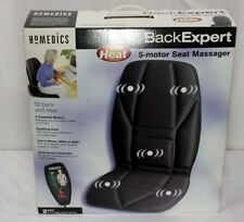 HOMEDICS Back Expert 5-motor Seat Massager with Heat In Box