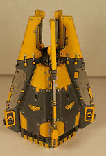 Warhammer 40k Space Marine Army Tactical Squad Red Scorpions Drop Pod Painted 1