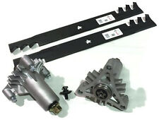 """42"""" Spindle Kit 130794 5321307943 with Copperhead Mulch Blades R6422 (2)"""