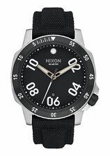 **BRAND NEW** NIXON WATCH THE RANGER NYLON BLACK A942000 NIB