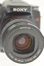 MINOLTA AF 35-80mm ZOOM LENS for MINOLTA & SONY ALPHA DIGITAL DSLR CAMERAS