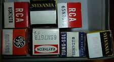 ONE Tube 6SN7 VARIOUS BRANDS NOS NIB tested TV7