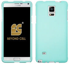 NEW MINT RUBBERIZED HARD SHELL CASE PROTEX COVER FOR SAMSUNG GALAXY NOTE 4