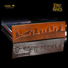 WETA Lord Of The Rings The Fellowship Of The Ring Leather Bookmark Tolkien NEW
