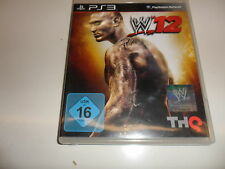 PlayStation 3 PS 3  WWE 12