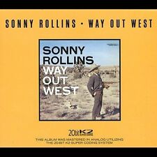 Way Out West Sonny Rollins CD 1991 Original Jazz Classics FREE USA SHIPPING