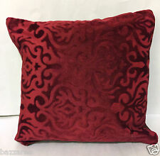 LUXURY Designer Floral Damask Scatter CUSHION COVER COVERS Faux Fur Silk Sofa UK