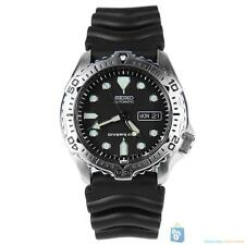 Seiko SKX171K1S Men's Black Silicone Automatic Dive Watch