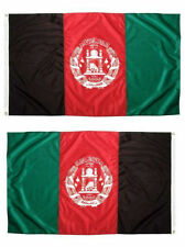 2X3 Afghanistan Afghani Afghan 2 Faced 2-ply Wind Resistant Flag grommets