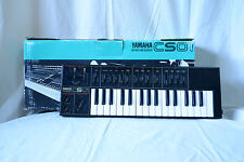 Yamaha CS01 Black color classic analog monosynth with Box