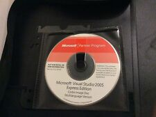Microsoft Partener Program Microsoft Visual Studio 2005 Expresso Edition