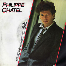 PHILIPPE CHATEL RENDEZ-MOI MA MOBYLETTE / ISIS ET OSIRIS FRENCH 45 SINGLE