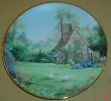 The Hamilton Collection Collectors Plate THE GAMEKEEPER'S COTTAGE