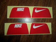 Nike Visionshield Visor for Football Helmet Licensed RED Decals (2) Sets