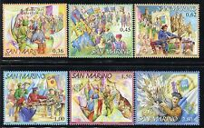 SAN MARINO 2006 BALESTRIERI-CROSSBOW FED/FLAGS/CASTLES/FLAGTHROWERS/SHOT/PEOPLES