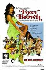 Foxy Brown Poster 01 A4 10x8 Photo Print