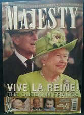 Majesty Vive La Reine Queen in France Kyril of Bulgaria 2014 FREE SHIPPING