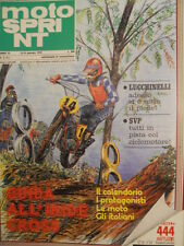 Motosprint 2 1978 Guida all' Iride Cross - Marco Lucchinelli - SVP ciclo [SC.31]
