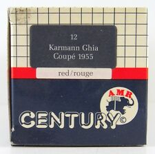 CENTURY MODELS #12  1955 KARMANN GHIA COUPE  1:43 (BOX ONLY)