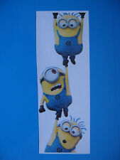 Despicable Minion ME 2 Gang Hanging Car Sticker Colour Vinyl
