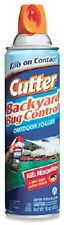 (6) Cans Cutter HG-95704 16 oz Bug Free Backyard Outdoor Mosquito Fogger Spray