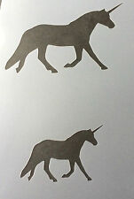 Unicorn Animal Farm A4 Mylar Reusable Stencil Airbrush Painting Art Craft