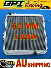 62MM 3 ROW aluminum radiator toyota HILUX LN106 LN111 Diesel 88-98 AT/MT 89 90