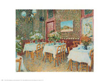 """Interior of a Restaurant"" by Vincent van Gogh  - Fine Art Print 24 x 30"