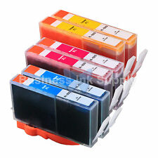 6 COLOR 920XL NEW GENERIC 920 HIGH YIELD 920XL w/Chip+INK LEVEL for HP Printer