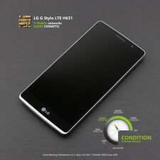 Used Working Smartphone LG G Stylo LTE H631 T-Moblie 16GB CellPhone Clean ESN