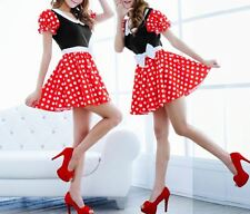 NEW Women's Minnie Mouse Sexy Costume Adult Costume HOT!!!