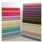 3mm Polka Dot Collection, 100% Cotton fabric, Sewing, Craft, Spots, Red, Pink