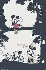 MINNIE & MICKEY MOUSE - PRETTY POSTER - 22x34 DISNEY 14513