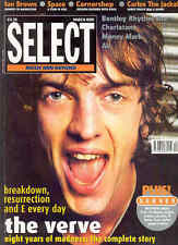 UK Select Magazine Mar.98: Verve Ian Brown Cornershop