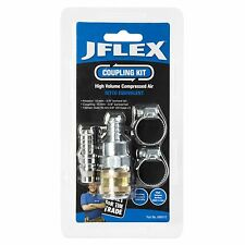 "JFLEX COUPLING KIT 4Pcs Suits 3/8"" Barbed Tail,16mm Hose,Air Tool Fitting 886012"