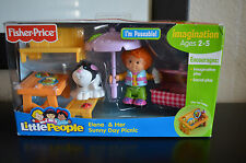 Fisher-Price Little People Elena & Her Sunny Day Picnic Set