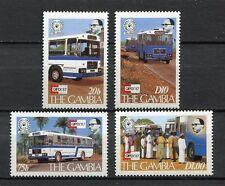 27724) GAMBIA 1987 MNH** Nuovi** CAPEX - Busses 4v