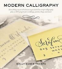 Modern Calligraphy : Everything You Need to Know to Get Starte (FREE 2DAY SHIP)