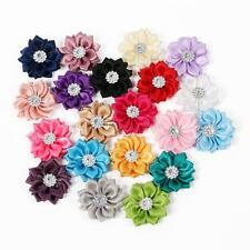 20pcs/Lot Baby Kids DIY Flowers Headband Girls Hair Accessories Corsage Bow Cute
