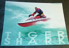 1995 ARCTIC CAT TIGERSHARK PERSONAL WATERCRAFT SALES BROCHURE 6 PAGES  (891)