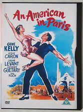AN AMERICAN IN PARIS / GENE KELLY / LESLIE CARON / 1951 MGM CLASSIC MUSICAL / R2